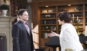 Stefan confronts Vivian about Kate Days of our Lives