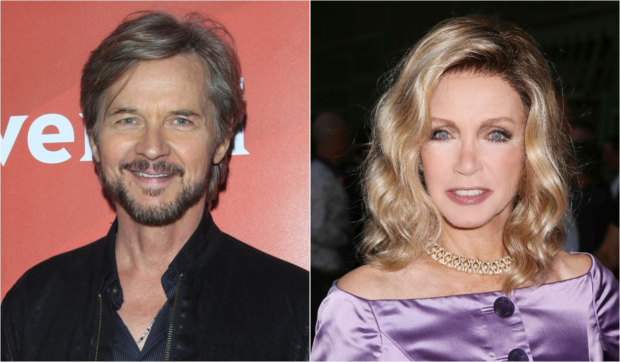 Stephen Nichols days of our lives and donna mills social engagement