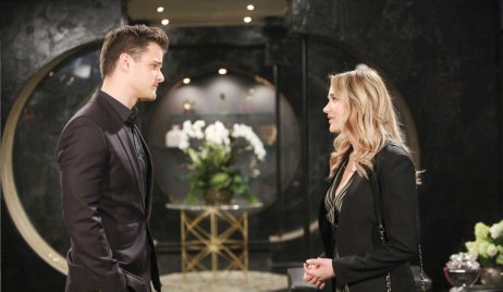 Summer and Kyle on Young and the Restless