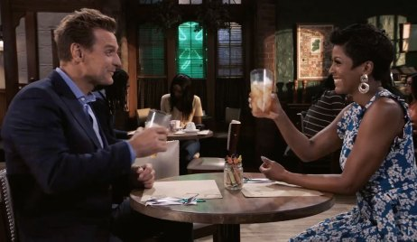 Tamron Hall meets with Jax on General Hospital