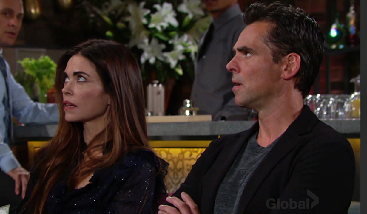 Victoria and Billy arrest Young and Restless