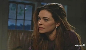 Victoria assures Billy he's stronger Young and Restless