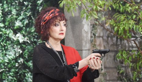 Vivian shoots a gun on Days of our Lives