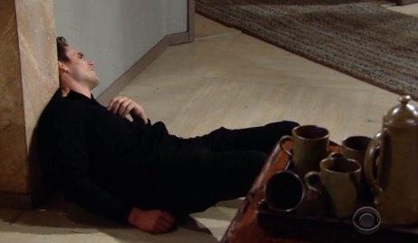 Adam collapses on Young and the Restless