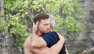john and brady hug days of our lives