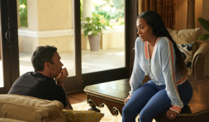 Shay delivers sensitive news to Brian on BH90210