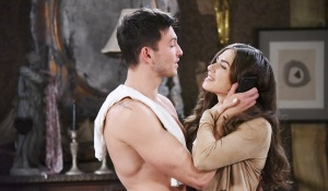 cin cuddling at home days of our lives