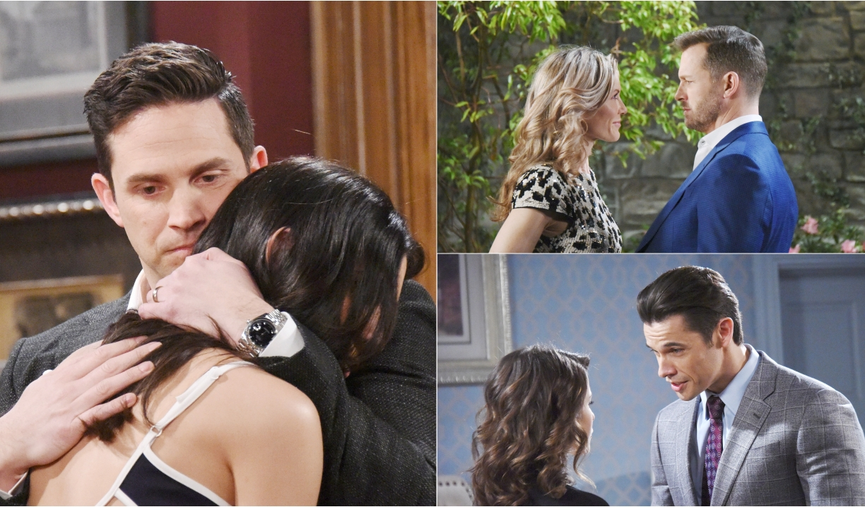 Stefan & Gabi, Brady & Kristen, Xander & Sarah on Days of our Lives