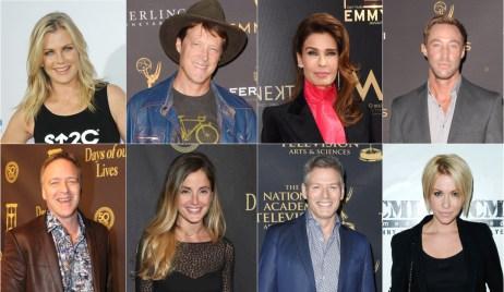 Alison Sweeney, Matthew Ashford, Kristian Alfonso, Kyle Lowder, Roark Critchlow, Alexis Thorpe, Kevin Spirtas, Farah Fath Days stars on Friends
