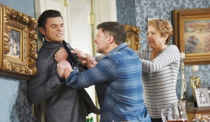 eric attacking xander days of our lives