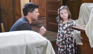 eric sees holly again days of our lives