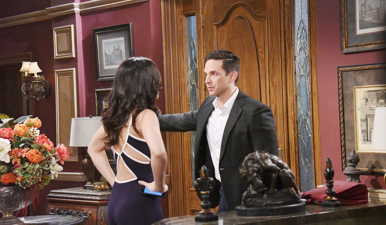 gabi and stefan argue over vivian days of our lives