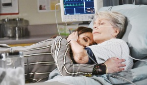hope cuddles julie hospital days of our lives