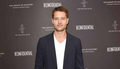 Justin Hartley starring in the comedy Jexi