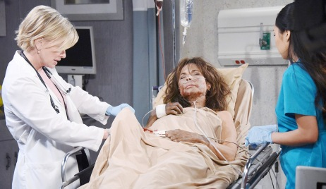 Kate hospitalized gunshot wound days of our lives