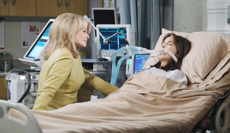 marlena sits with kate hospital days of our lives
