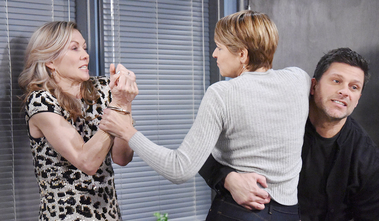 nicole attacks kristen days of our lives