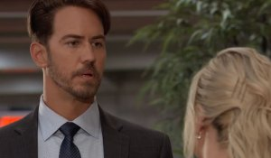 Maxie grills Peter on General Hospital