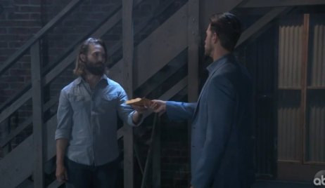 Peter pay a man on the docks on General Hospital