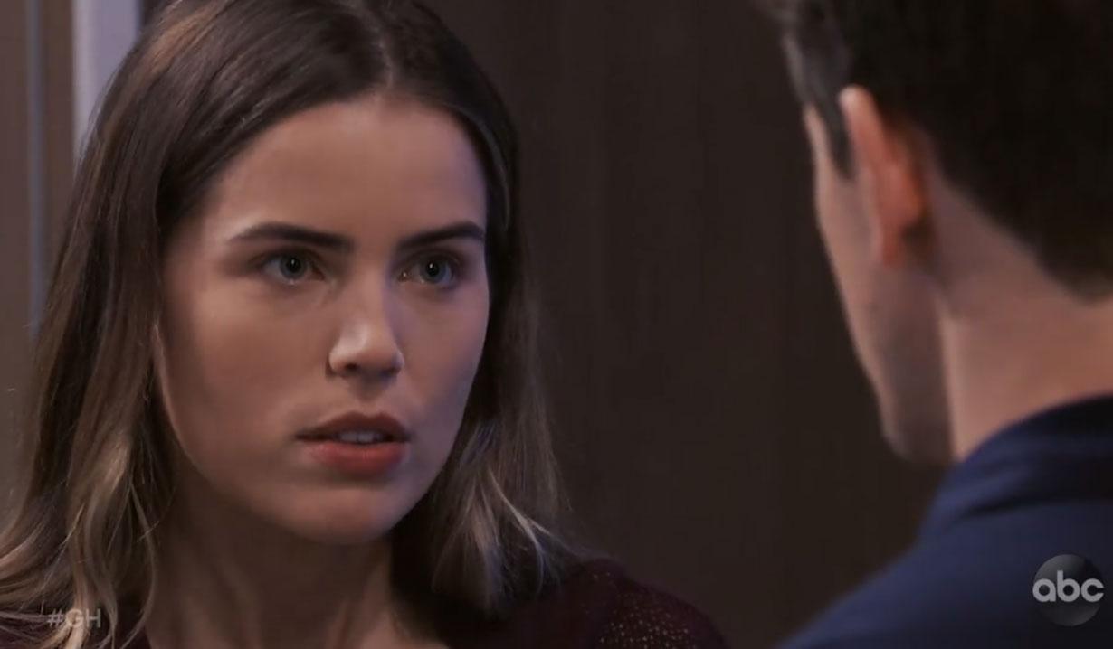 sasha tells michael the truth on general hospital