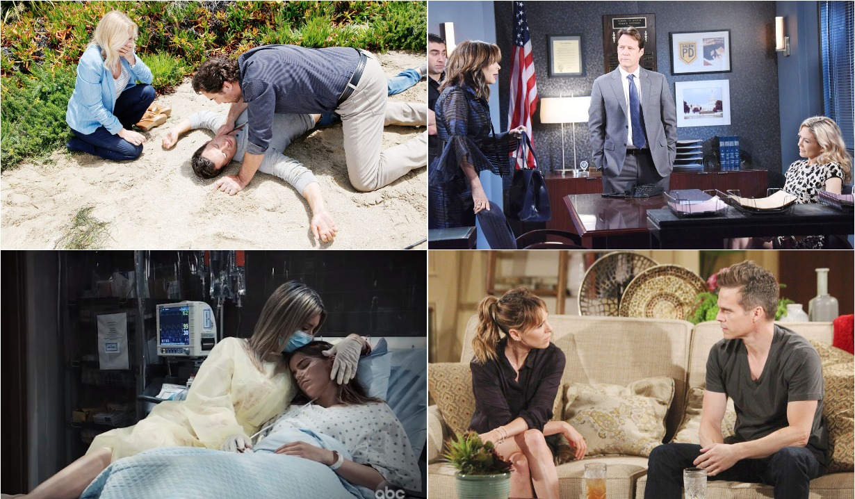 bold and beautiful days of our lives general hospital young and the restless roundup September 2