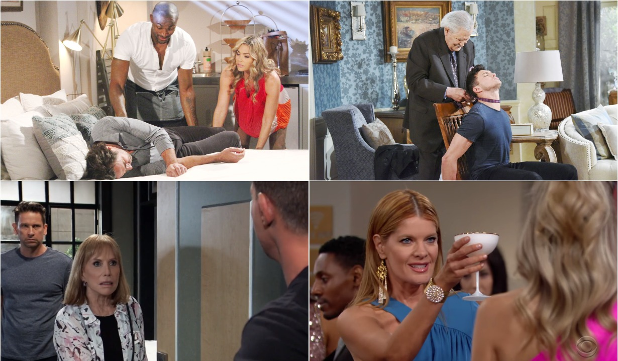 bold and beautiful days of our lives general hospital young and the restless roundup September 16