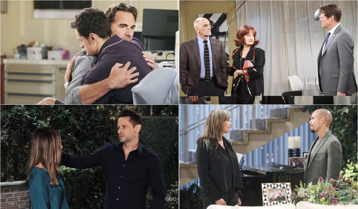 bold and beautiful days of our lives general hospital young and the restless roundup September 9