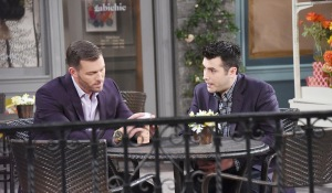 brady upset talks to sonny days of our lives