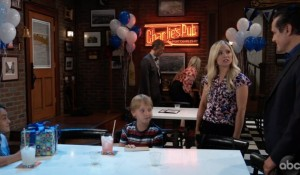 Rocco's birthday party at Charlie's Pub on General Hospital