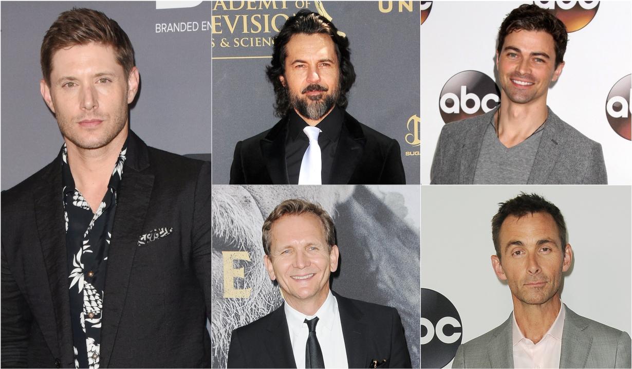 Jensen Ackles, Jeffry Vincent Parise, Matt Cohen, Sebastian Roche, James Patrick Stuart on Supernatural