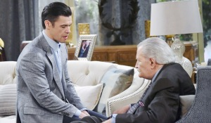 xander and victor scheme days of our lives