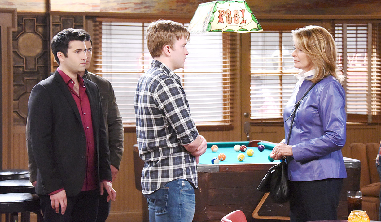 Will with Sonny, Paul and Marlena