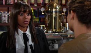Amanda is questioned Young and Restless