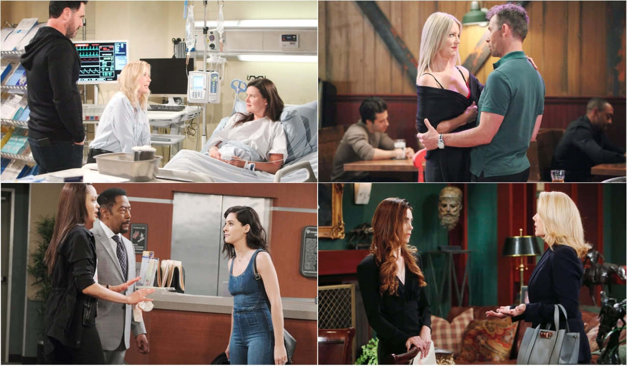 10-7-19 spoilers for bold and beautiful days of our lives general hospital young and restless