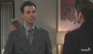Billy faces Adam The Young and the Restless