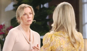 Brooke and Donna talk on Bold and Beautiful