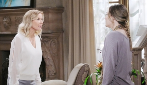 Brooke and Hope disagree on Bold and Beautiful