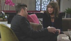Jill and Cane discuss Devon The Young and the Restless