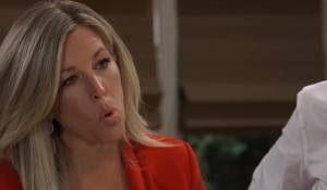 Carly asks Michael about Sasha General Hospital