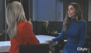 Carly confronts Sasha General Hospital