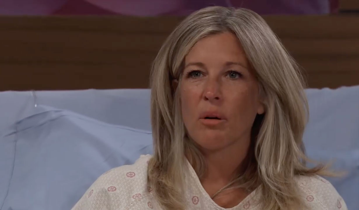 Carly is worried about Donna on General Hospital