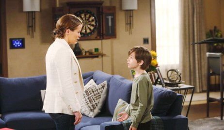 Chelsea and Connor on the Young and the Restless