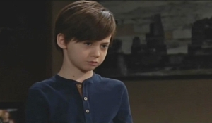 Connor greets Sharon Young and Restless