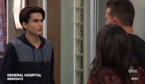 Sam and Jason question Dev General Hospital