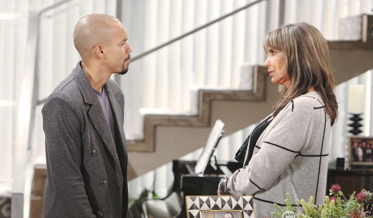 Jill warns Devon Young and Restless