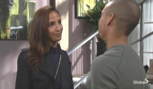 Devon asks Lily for advice The Young and the Restless