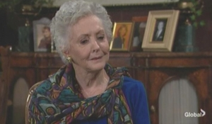 Doris tells Jack and Traci about Dina The Young and the Restless