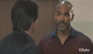 Curtis and Finn talk Hayden General Hospital
