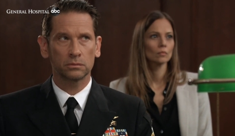 Franco and Kim wait for judgment General Hospital