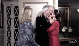 gina kisses john days of our lives
